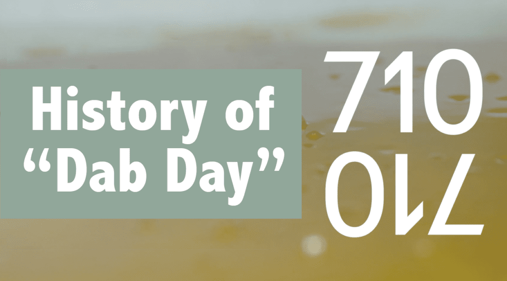 The History of 710 and Cannabis OIL